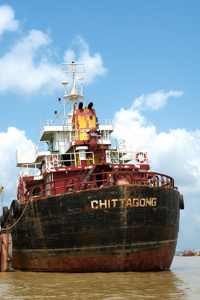 Chittagong is the country's largest port