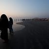 On the beach in Cox's Bazaar.