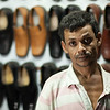 A shoe shop keeper.