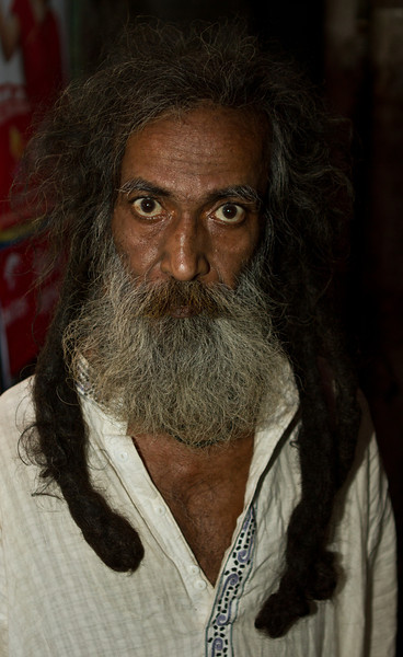A man in Old Dhaka.