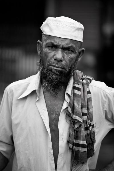 A rickshaw driver in Khulna.