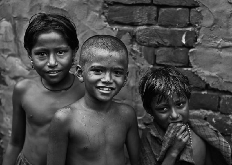 Children in Dhaka