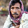 A drug addict who lives along the tracks in Saidabad, Dhaka city.