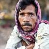 A drug addict who lives along the tracks in Saidabad, Dhaka city.