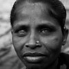 A woman in Dhaka. She smiled even though she could not see me.