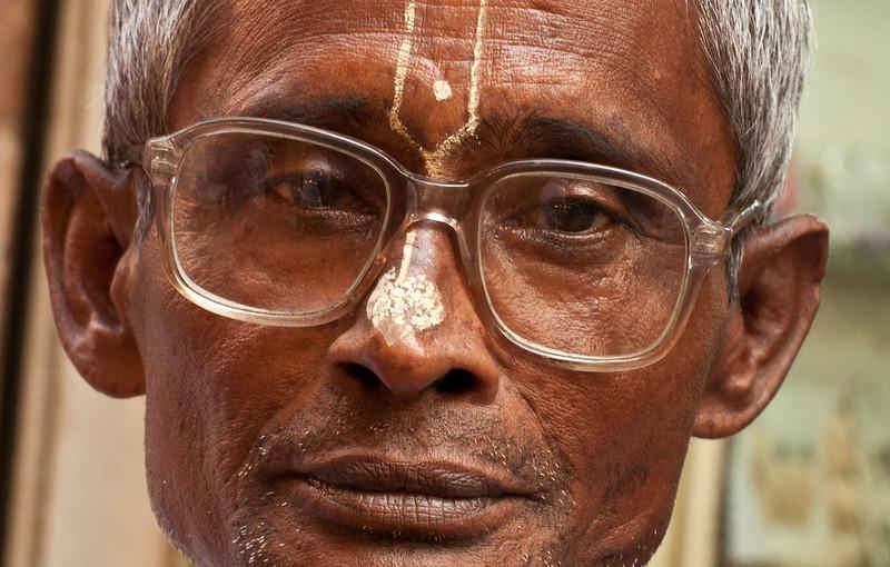 A Hindu man in Old Dhaka.
