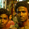 Two men I met in Old Dhaka during a festival.