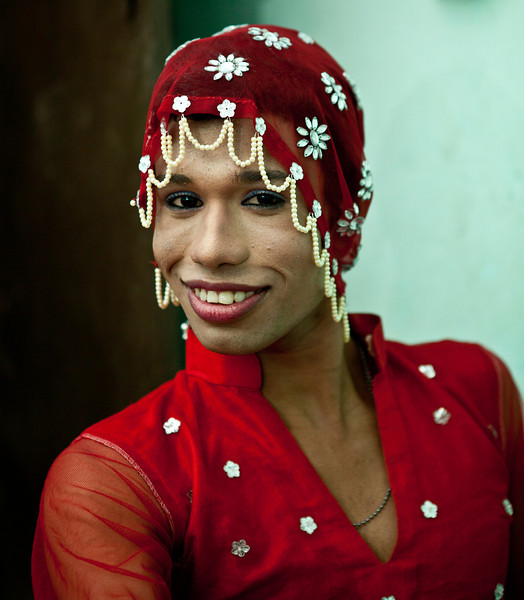 A transgender in Dhaka.