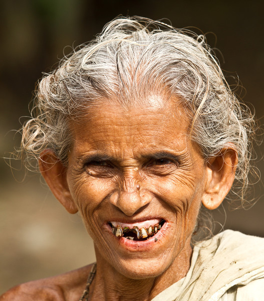 A woman who lives in a pottery village in North-Eastern Bangladesh.
