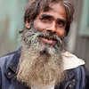 A man living in a brothel area in a city in Bangladesh.