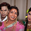 Three transgenders who had a great time.