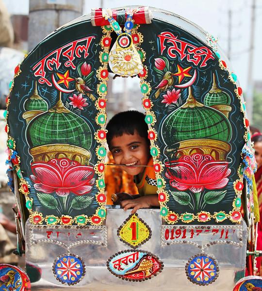 A boy Friday morning in Dhaka