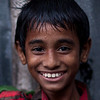 A boy in Banani, Dhaka.