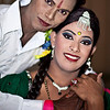 Two transgenders attending a ceremony in Dhaka