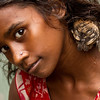 My favorite model of the day - a girl living in a slum in Banani, Dhaka.