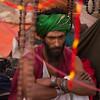 A Baul at the Mela.