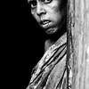 A woman in a slum in Gulshan, Dhaka.