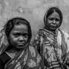 Mother and daughter - in a remote village in Southern Bangladesh.