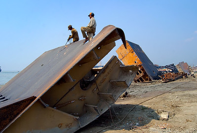 Chittagiong ship breaking yard
