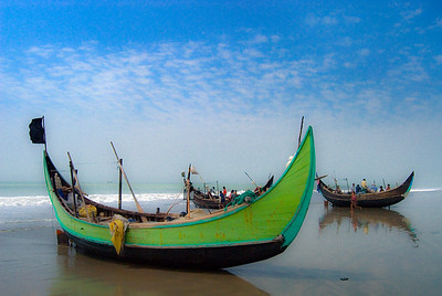 Fishing boats, Cox Bazar