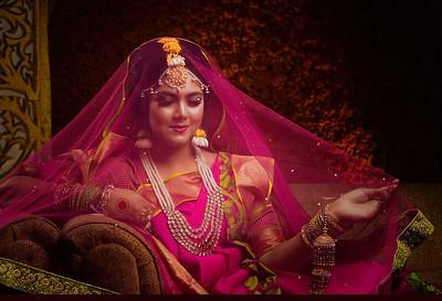 Bangladeshi Bride With Veil
