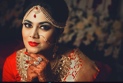 Gorgeous Bangladeshi Bride Portrait