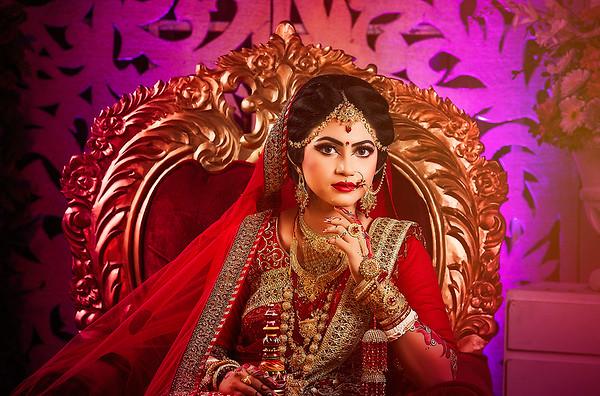 Trendy Bridal look