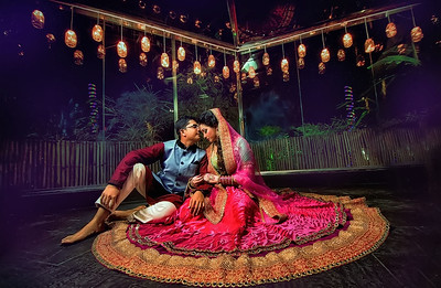 Gorgeous Bangladeshi Couple Portrait