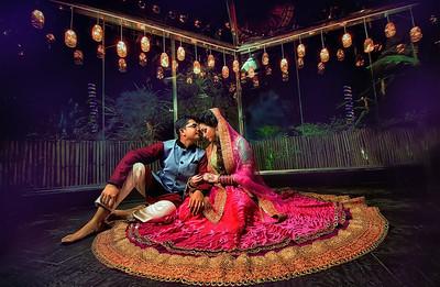 Gorgeous Bangladeshi Couple Portrait