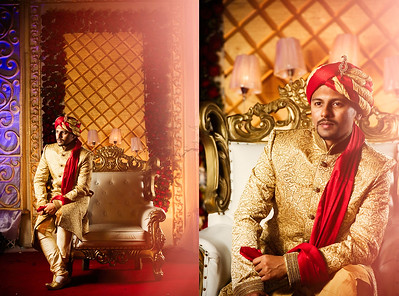 Trendy Bangladeshi Groom Portrait