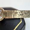 1.11ct Antique Cushion Cut Diamond Bangle GIA M SI1 7