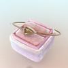1.86ct Rustic Rose Cut Diamond Bangle, Rose Gold 7