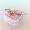 1.86ct Rustic Rose Cut Diamond Bangle, Rose Gold 6