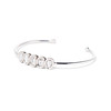 2.07ctw 5-Stone Rose Cut Bangle 1