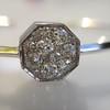 .95ctw Octagon Diamond Mosaic Bangle 5