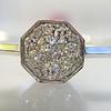.95ctw Octagon Diamond Mosaic Bangle 2