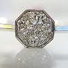 .95ctw Octagon Diamond Mosaic Bangle 4