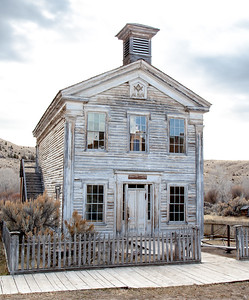 Old School and Masonic Lodge, Bannack Ghost Town