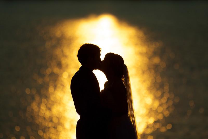 Justine & Jamie - Yarmouth Sunset