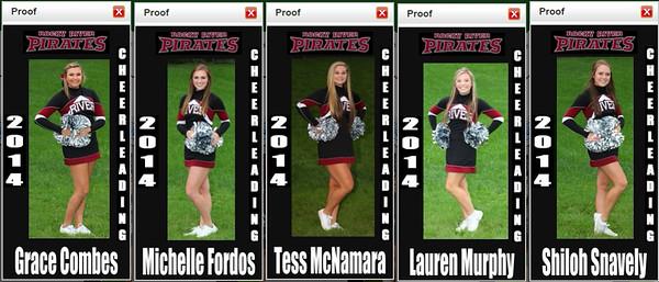 2014 RRHS Cheerlearders
