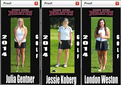 2014 RRHS Girls Golf
