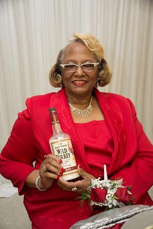Minnie Partee's Surprise 70th Birthday Dinner