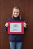The 2008 Milt Aasen Award for Most Improved Central Junior Female Skier: Michaela Arneson