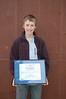 The 2008 Art Knudsen Award for Most Improved Central Junior Male Skier: Trevor Edlund