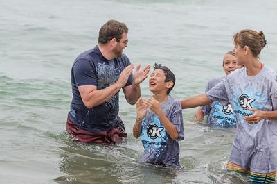 Saddleback Irvine beach picnic & baptism - photo by Allen Siu