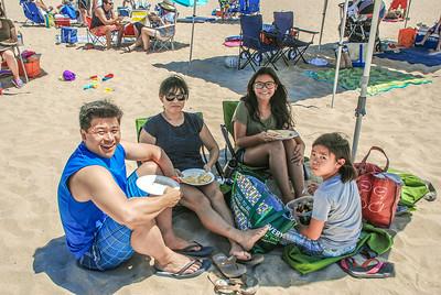 Saddleback Irvine Beach Picnic and Baptism - photo by Allen Siu