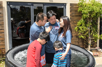 Saddleback Irvine South Sunday Worship - Baptism - photo by Allen Siu 2015-04-26