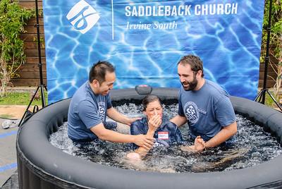 Saddleback Irvine South Sunday Worship Baptism - photo by Sherry Siu 2015-06-14