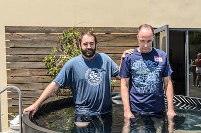 Saddleback Irvine South Sunday Worship Baptism - photo by Allen Siu 2016-08-14