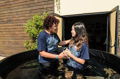 Saddleback Irvine South Sunday Worship Baptism - photo by Allen Siu 2016-09-11